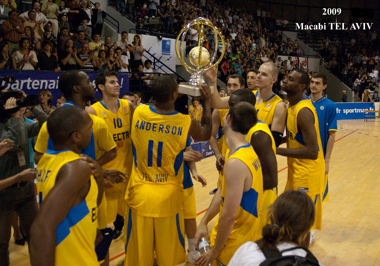 Maccabi TEL AVIV, vainqueur du PROSTARS 2009