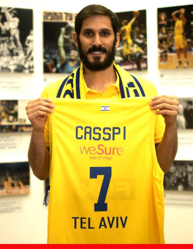 Omri Casspi de retour au Maccabi Fox Tel Aviv